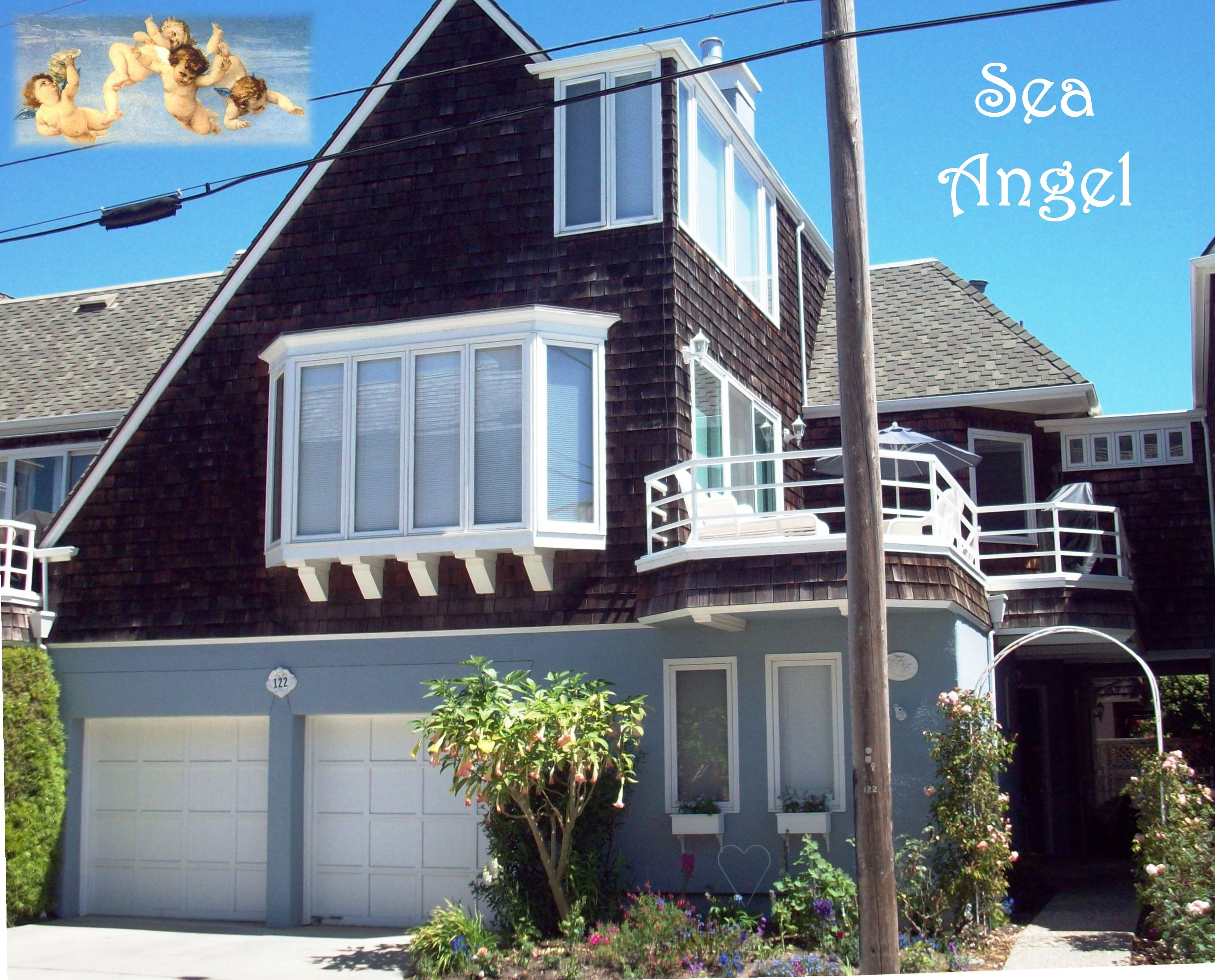Groovy Sea Angel Santa Cruz Beach House Vacation Rental Download Free Architecture Designs Embacsunscenecom